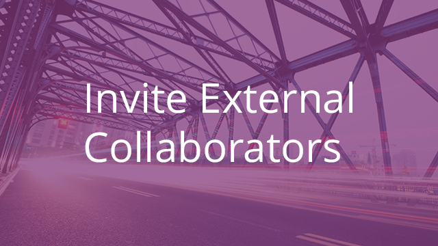 Invite Outside Collaborators to Egnyte Connect