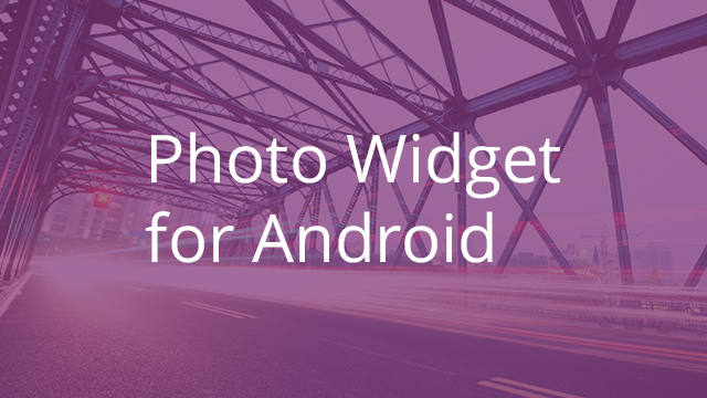 Egnyte's Photo Widget for Android