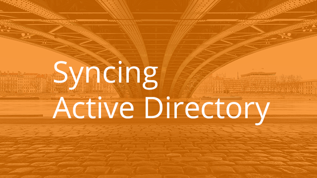 Syncing Active Directory with Egnyte Connect