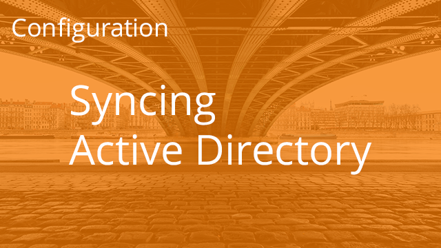 Syncing Active Directory with Egnyte