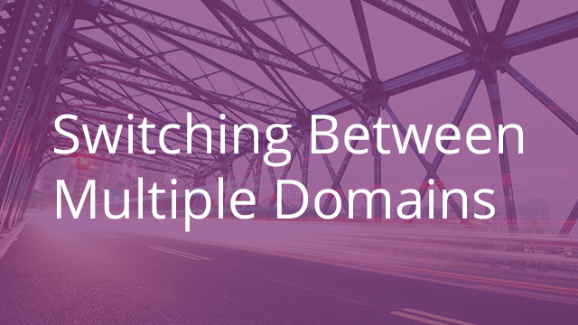 Switching Between Two or More Egnyte Domains