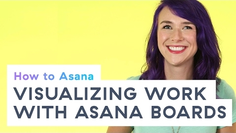 Visualizing work with Asana kanban boards