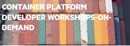 Container Platform: On-demand Developer Demos