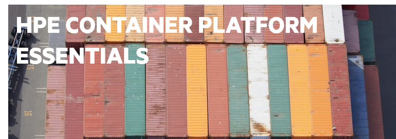HPE Container Platform Essentials