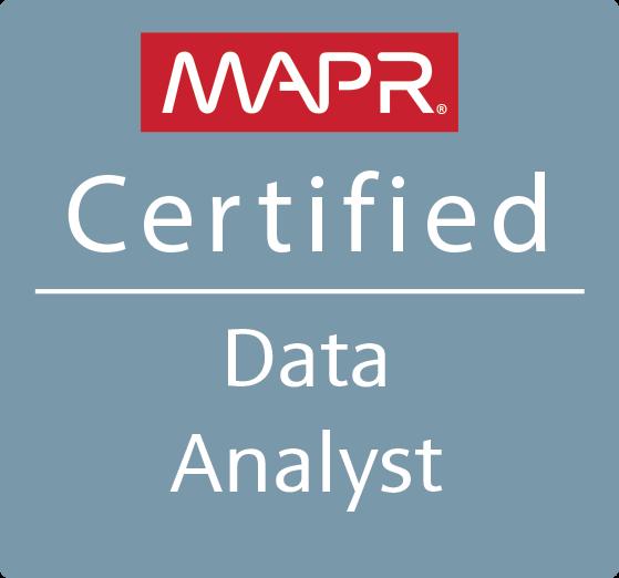 MapR Certified Data Analyst (MCDA)