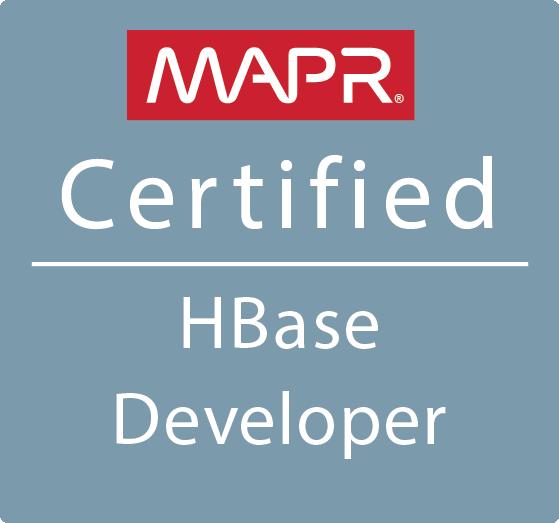 MapR Certified HBase Developer (MCHBD)