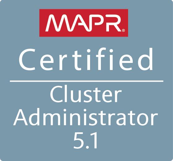 MapR Certified Cluster Administrator (MCCA)