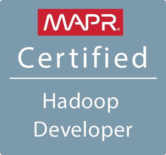 MapR Certified Hadoop Developer (MCHD)