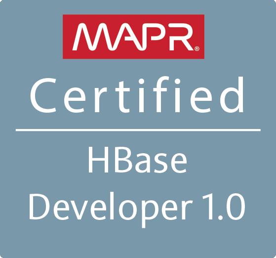 MapR Certified HBase Developer 1.0 (MCHBD)
