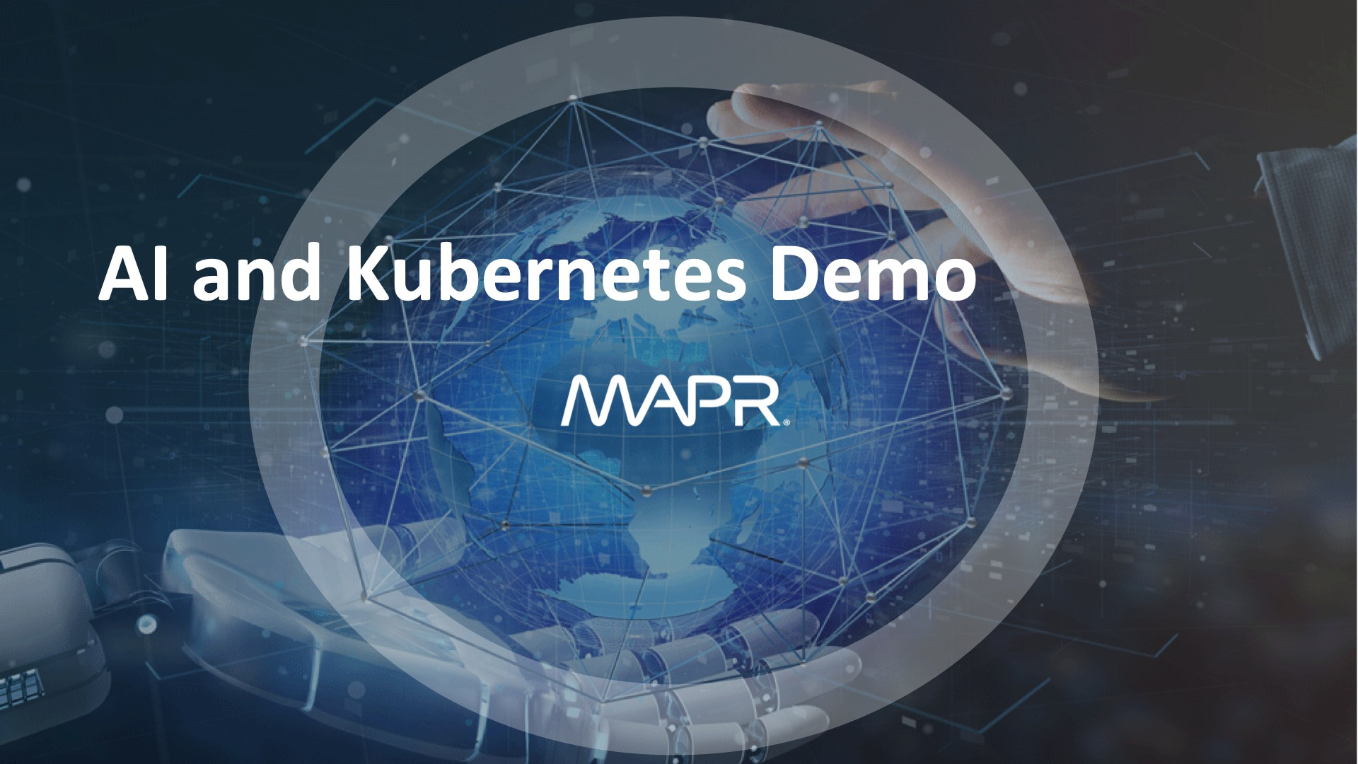 MapR ML/AI Demo with with Kubernetes, Keras, Tensorflow, and Slack