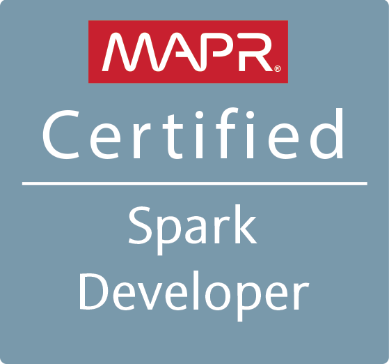 MCSD - MapR Certified Spark Developer 1.6