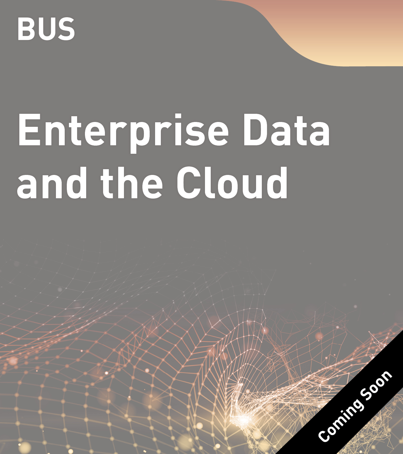 BUS - Enterprise Data and the Cloud