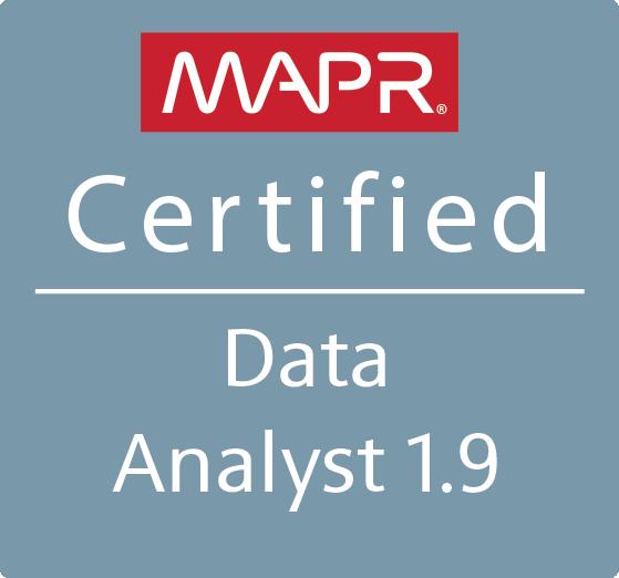 MapR Certified Data Analyst 1.9 (MCDA)