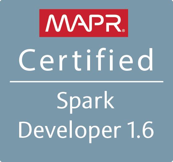 MapR Certified Spark Developer 1.6 (MCSD)