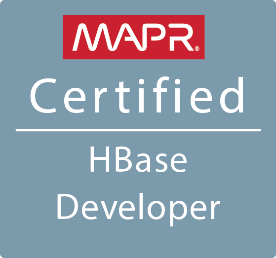 MCHBD - MapR Certified HBase Developer
