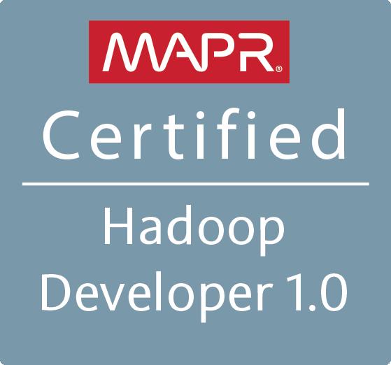 MapR Certified Hadoop Developer 1.0 (MCHD)