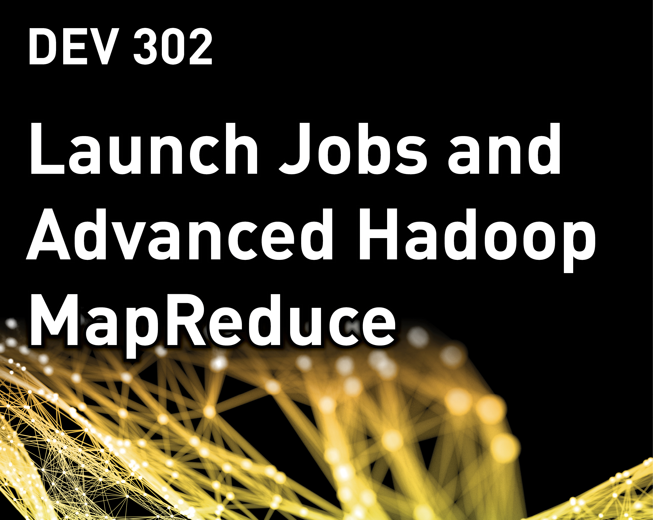 Launch Jobs and Advanced Hadoop MapReduce