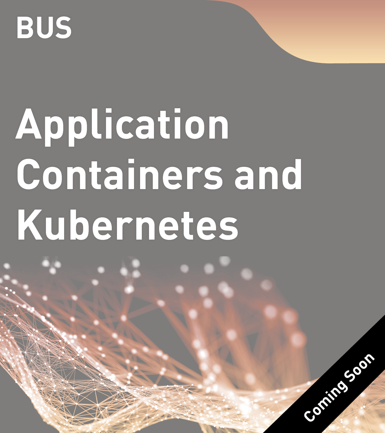 BUS - Application Containers and Kubernetes