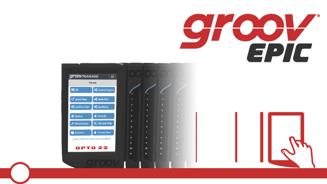 Configuring groov EPIC with groov Manage