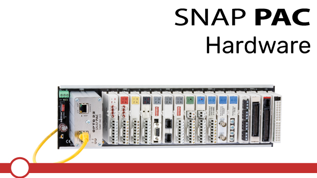 Working with the SNAP PAC Hardware