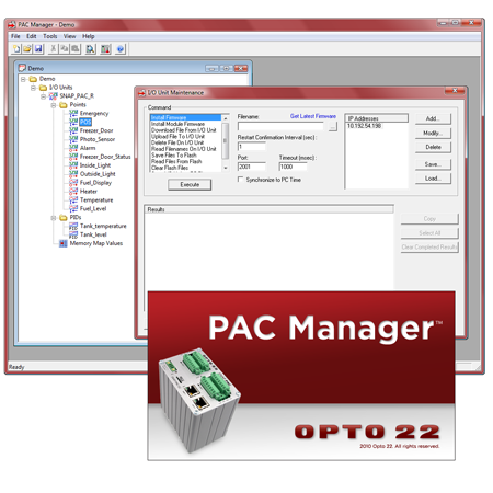 Using PAC Manager