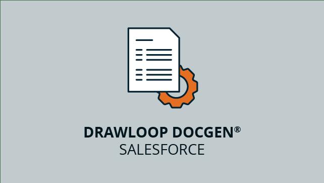 Nintex Drawloop Document Generation