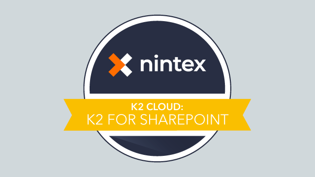 K2 Cloud for SharePoint