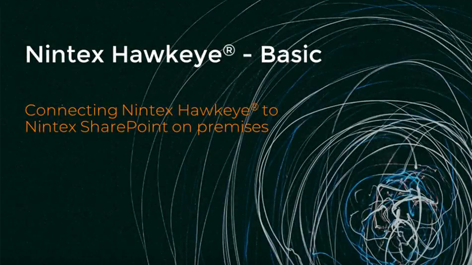 How to: Connect Nintex Hawkeye® to Nintex for SharePoint On-Premises