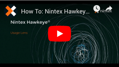 How to: Usage Lens in Nintex Hawkeye