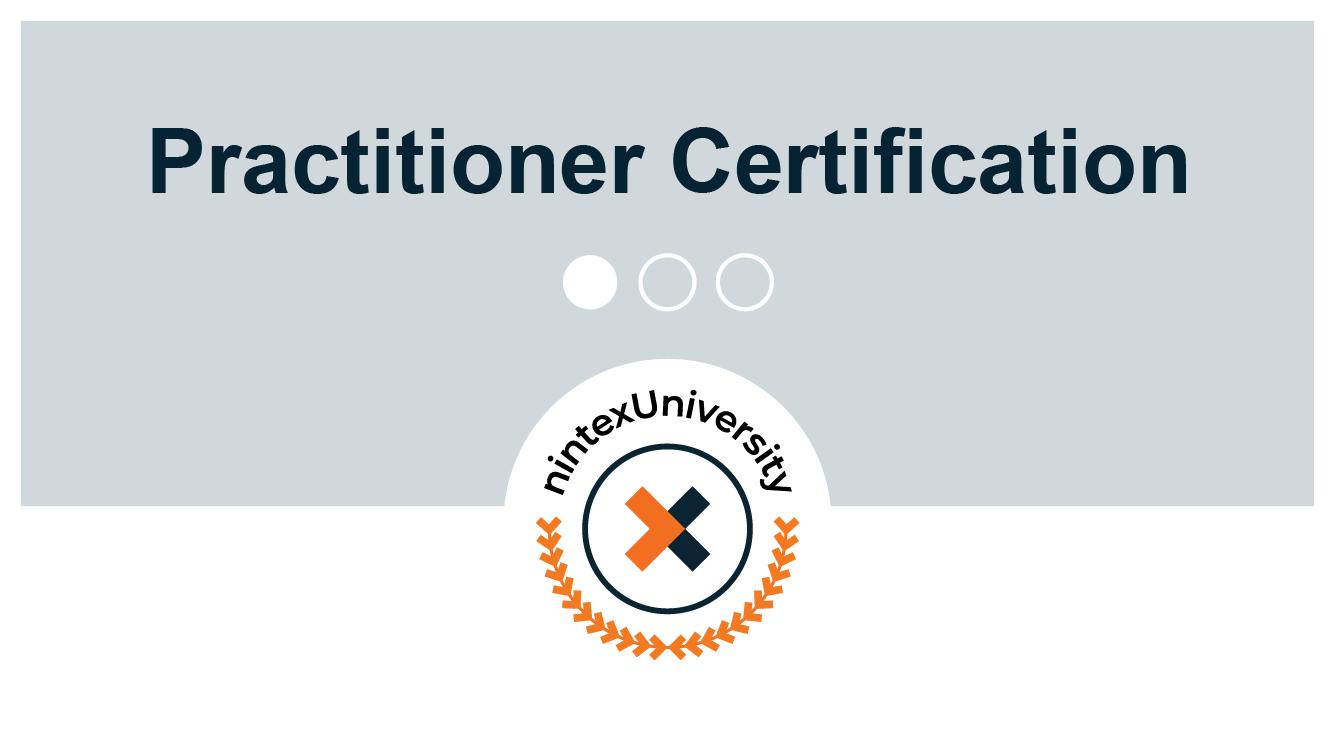 Certification: Nintex RPA Practitioner