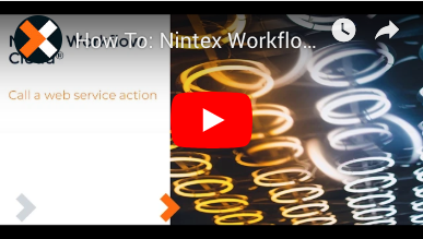 How to: Call Web Service Action in Nintex Workflow Cloud