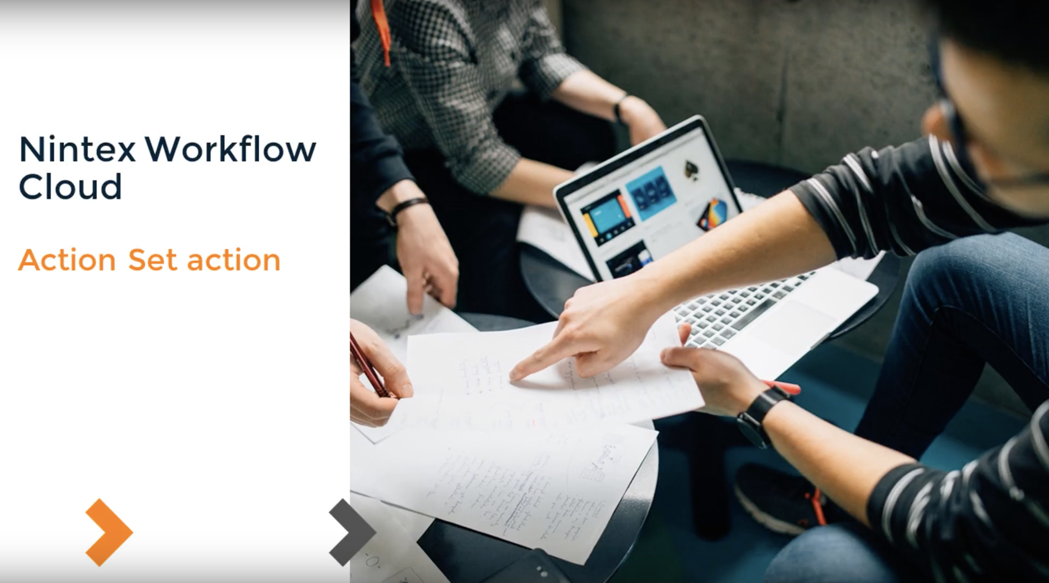 How to: Action Set in Nintex Workflow Cloud