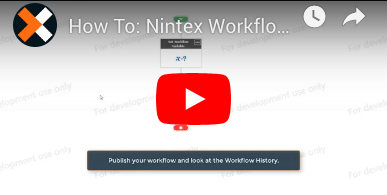 How to: Log to History List in Nintex Workflow for Office 365