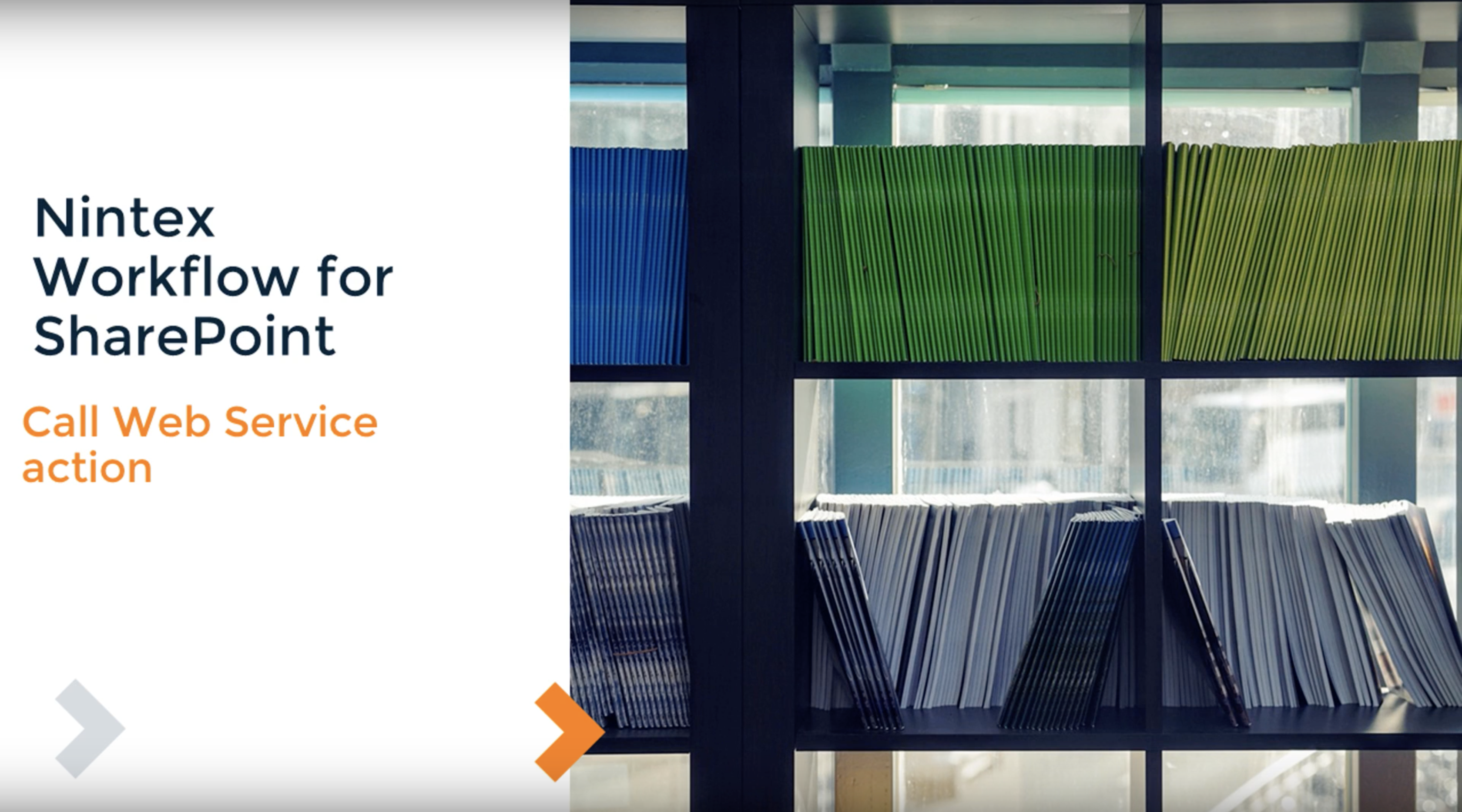 How to: Call Web Service Action in Nintex Workflow for SharePoint