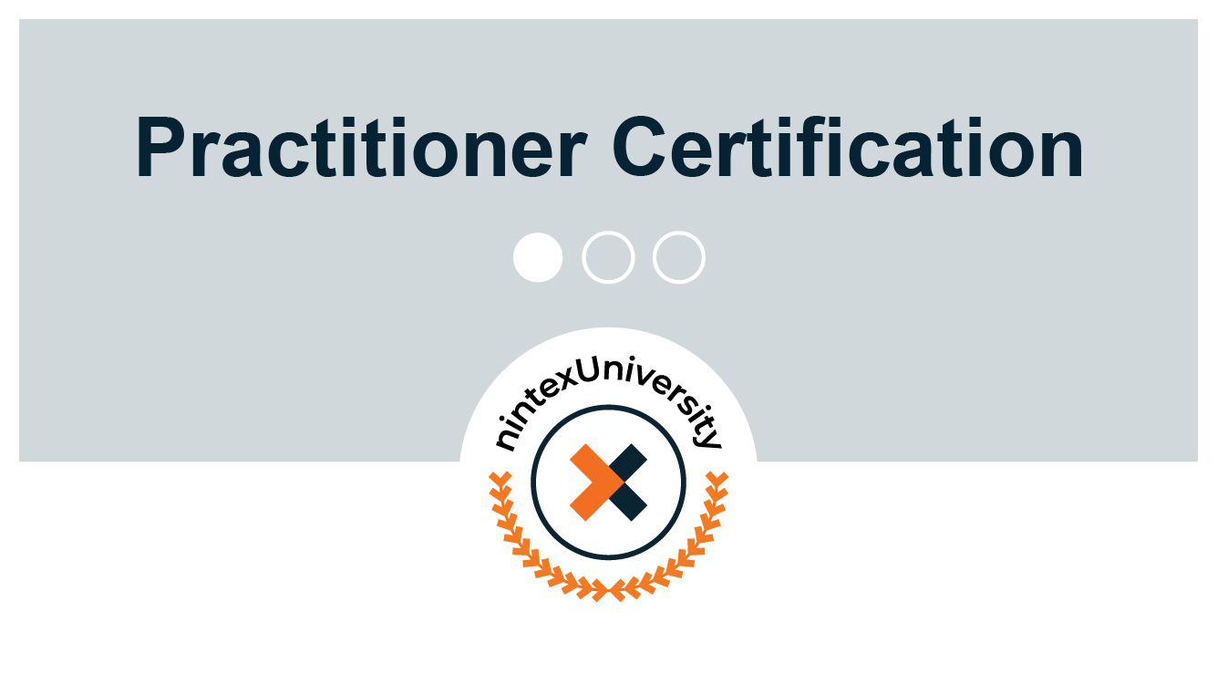 Certification: Nintex Process Automation Practitioner - Nintex Workflow Cloud