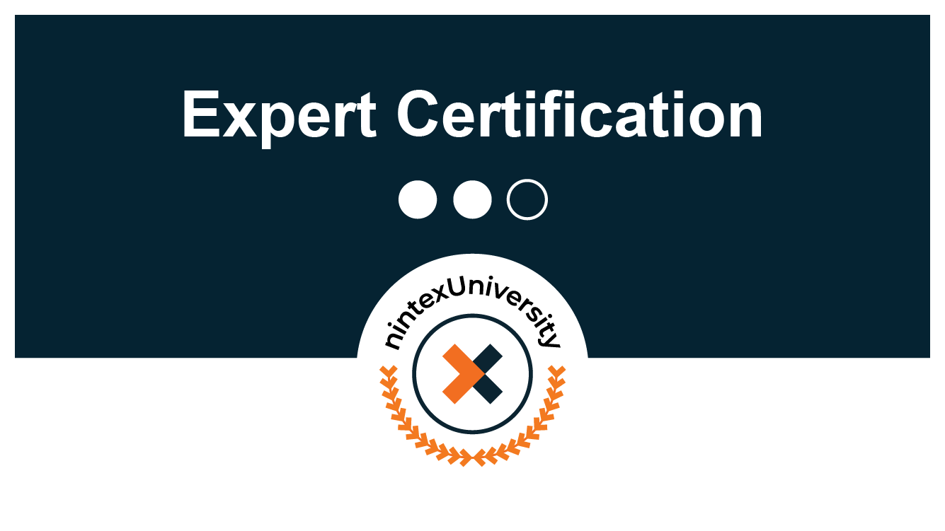 Certification: Nintex Process Mapping Expert - Author