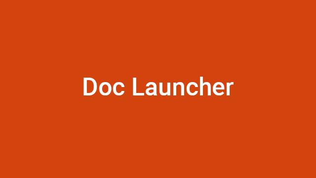 Doc Launcher