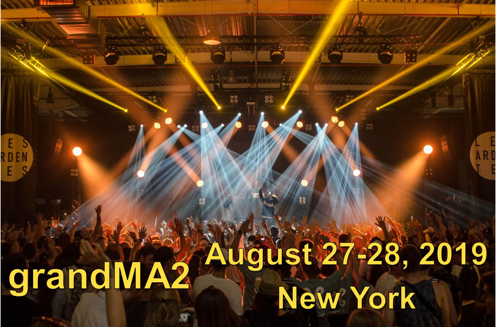 grandMA2 Class - August 27-28, 2019 - New York - SOLD OUT