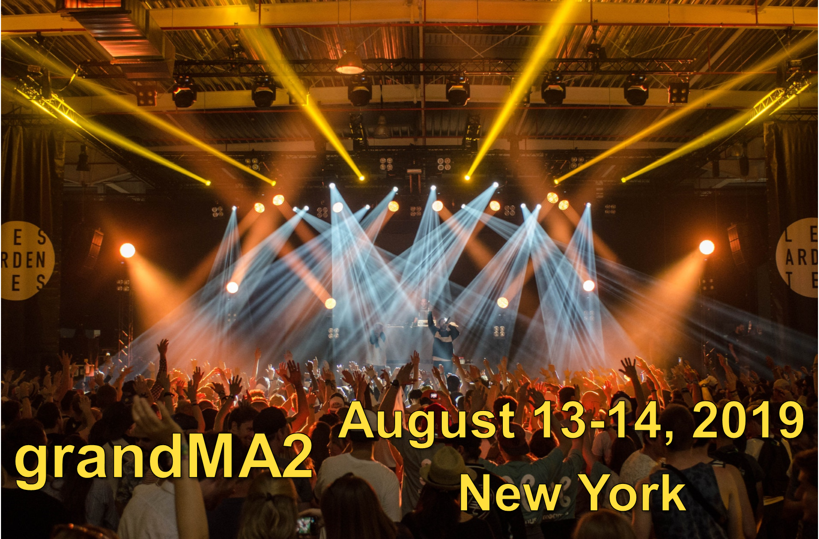 grandMA2 Class - August 13-14, 2019 - New York - SOLD OUT