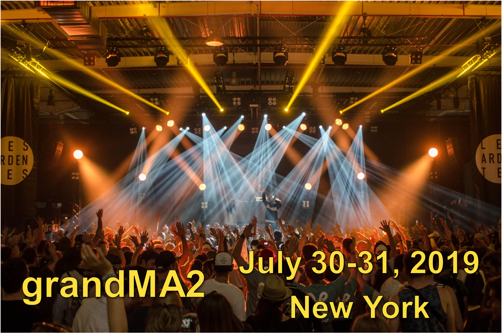 grandMA2 Class - July 30-31, 2019 - New York - SOLD OUT