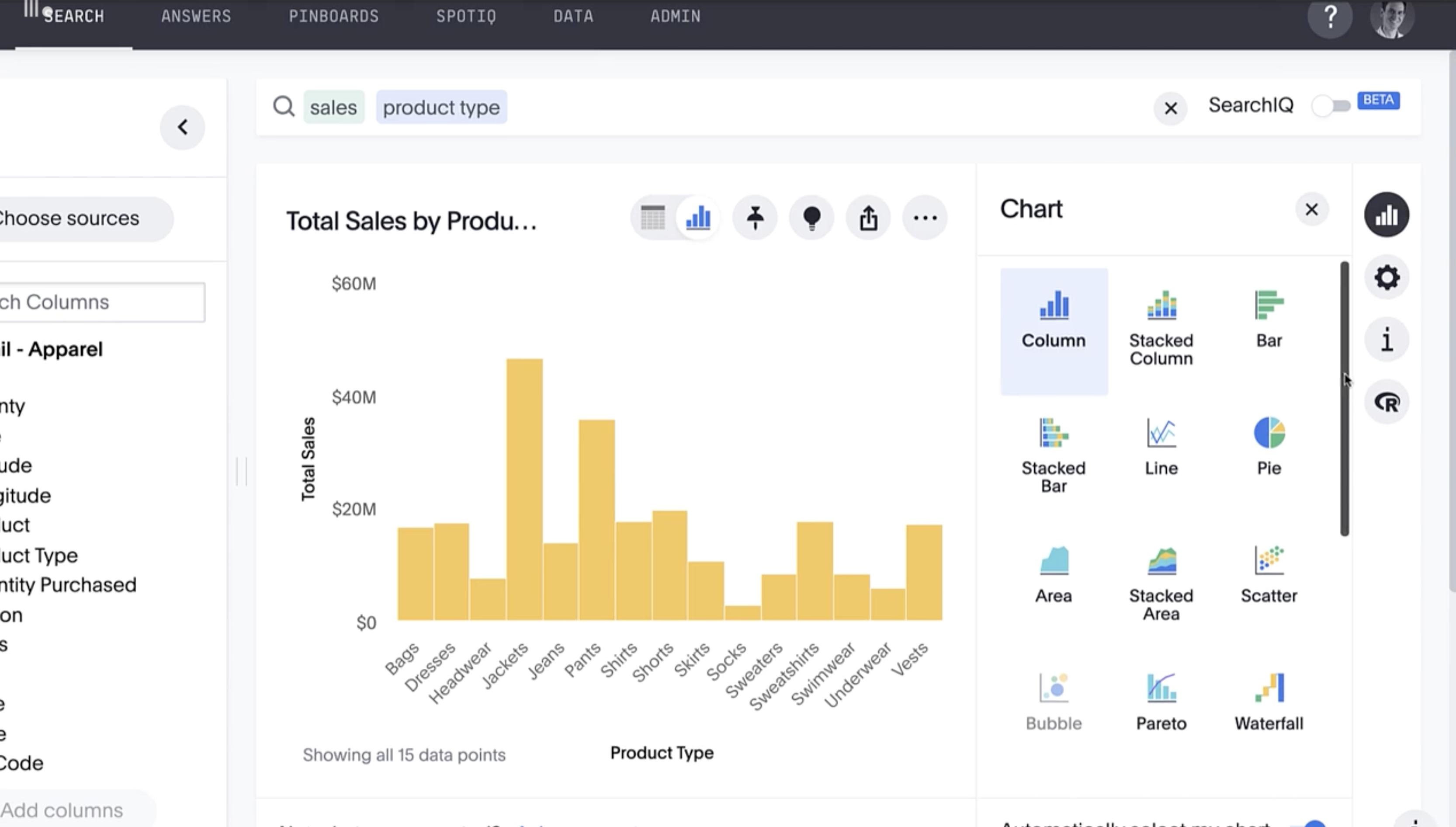Customizing Visualizations & Charts