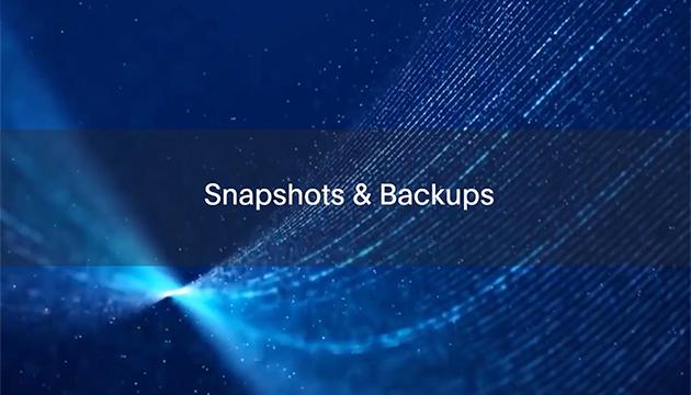3: Snapshots & Backups