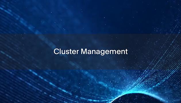 2: Cluster Management