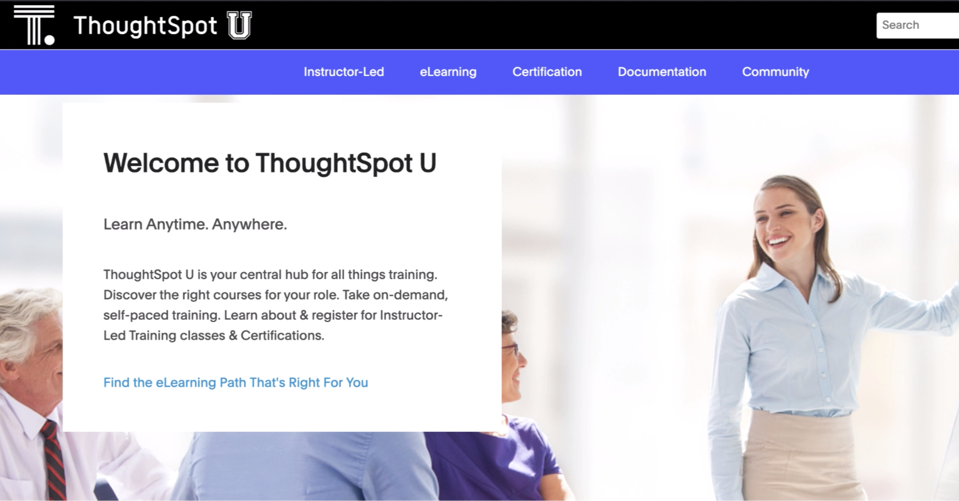 Welcome to ThoughtSpot U