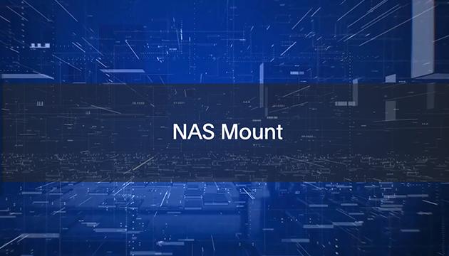 NAS Mount