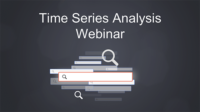Webinar: Time Series Analysis