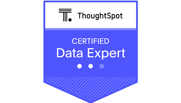 ThoughtSpot Data Expert Certification