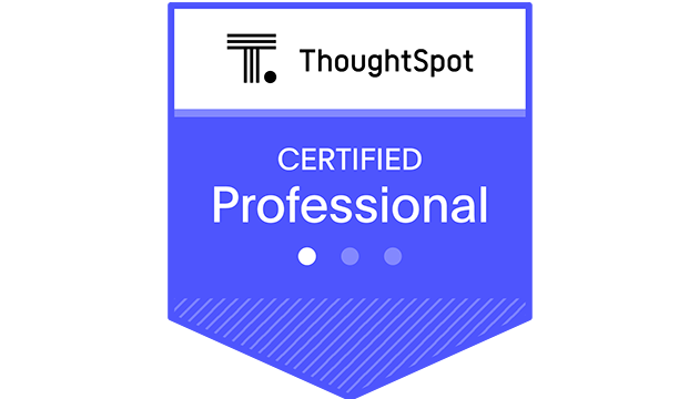 ThoughtSpot Professional Certification