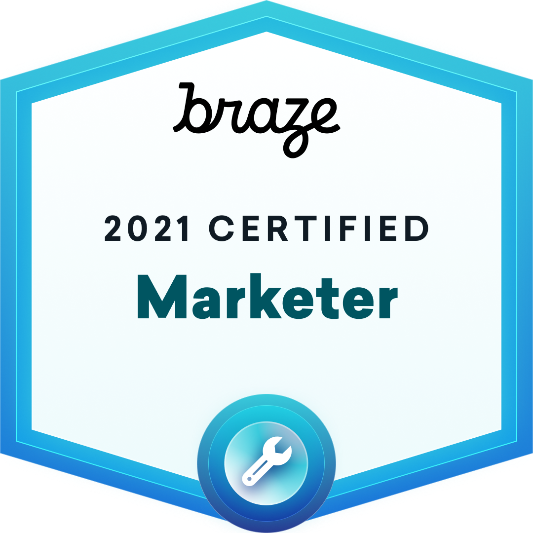 2021 Marketer Certification