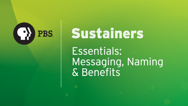 SUS05 - Messaging, Naming and Benefits